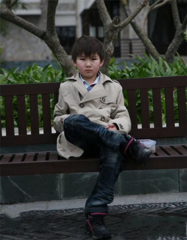 Cậu bé Mông Cổ
