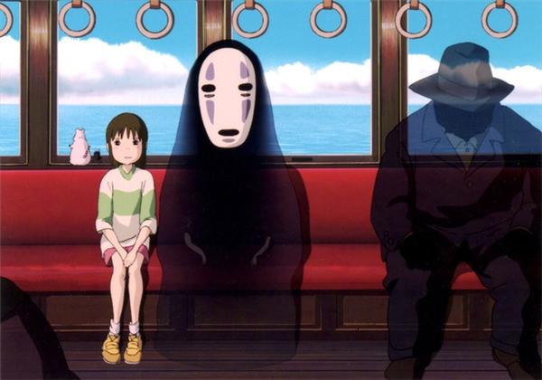 Tuy không có thông tin xác thực từ phía hãng phim hoạt hình nổi tiếng Ghibli, nhưng đa số người Nhật đều nhận ra rằng hồn ma đeo mặt nạ trắng Kaonashi đáng yêu trong Spirited Away vốn lấy hình mẫu từ Noppera- bō.