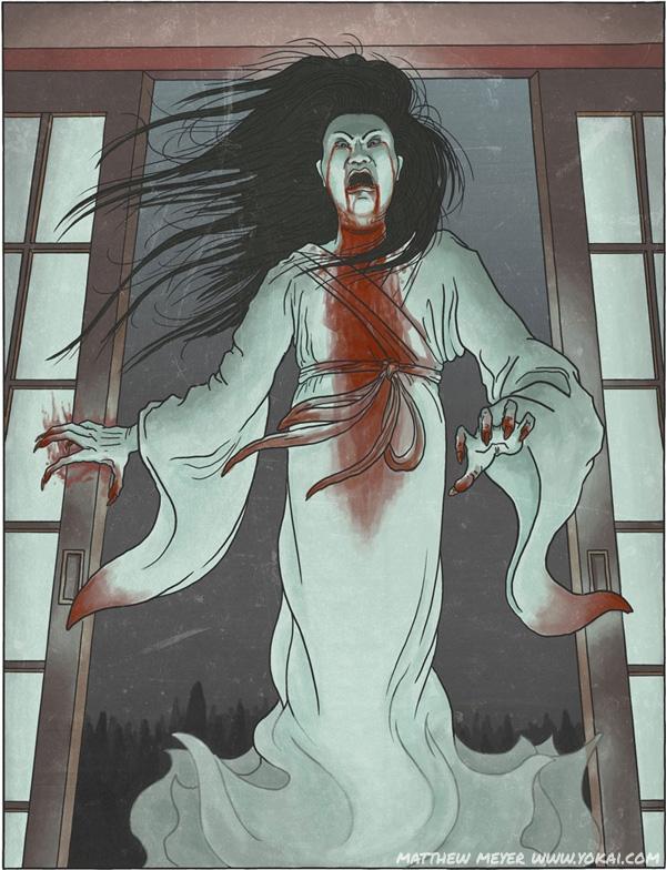 Những bóng ma vốn là người chết ôm trong mình mối hận dương thế sẽ trở thành Oán hồn.