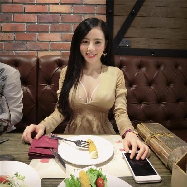Cô nàng xinh đẹp này sinh năm 1994, đang sinh sống và làm việc tại Hà Nội.(Ảnh: Internet)