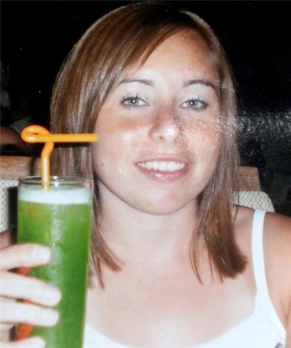 Ảnh chụp năm 2009, trước khi mắc bệnh,Lynne đã từng là một cô gái khỏe mạnh.