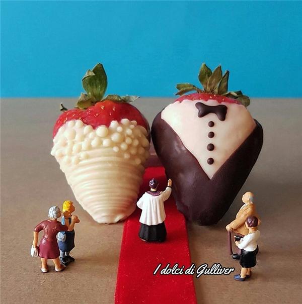 Cặp đôi cô dâu chú rể ngọt ngào nhất thế giới.