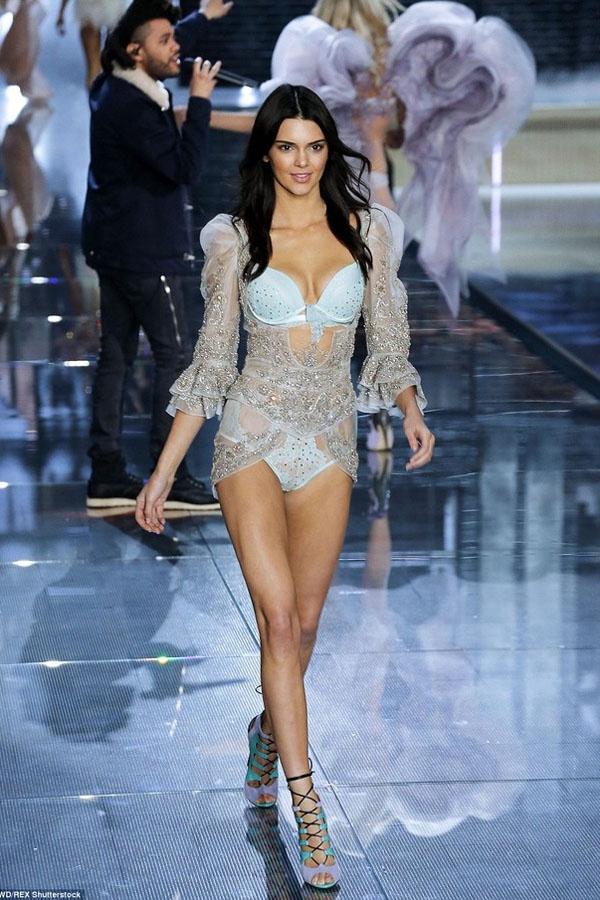 Kendall Jenner hiện là gương mặt người mẫu sáng giá ở tất cả show diễn thời trang hàng đầu trên thế giới. Trong show diễn năm ngoái cô giành được rất nhiều sự chú ý và Kendall Jenner sẽ tiếp tục góp mặt trong Victoria's Secret Fashion Show năm nay.