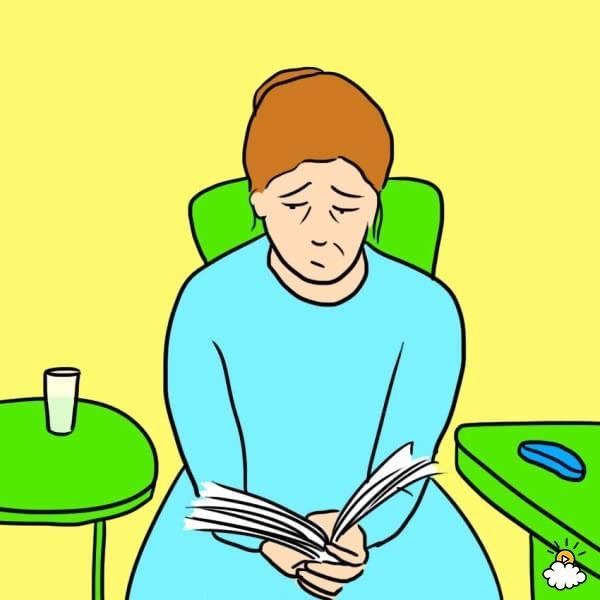 Người mắc bệnh mất trí thường khó bắt kịp mạch truyện.