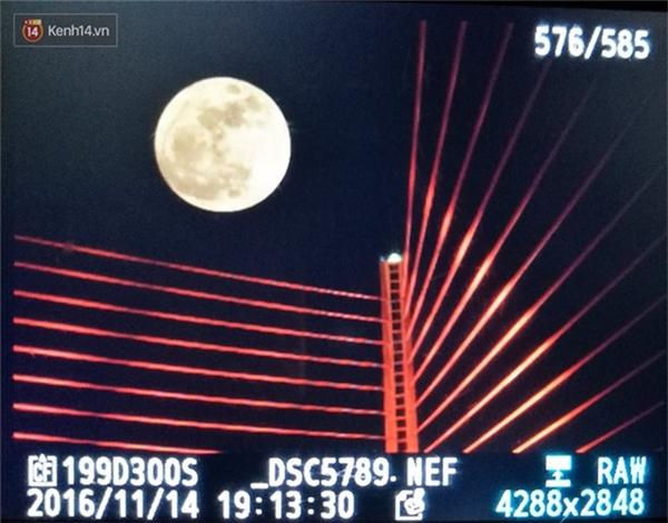 Lung linh loạt ảnh siêu trăng lớn thế kỷ