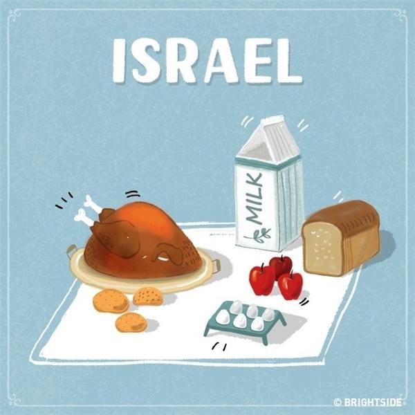 """Nếu lỡ """"thèm thuồng"""" táo thì hãy cầm số tiền ấy chạy sang Israel ngay, phần ăn của bạn lại được cộng thêm ba trái táo đỏ rồi."""