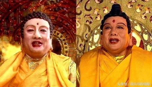 Vai diễn Phật Tổ là một trong những vai diễn thành công nhất của ông Chu.