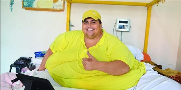 Người đàn ông mập nhất thế giới trước Juan đã mất vào năm 48 tuổi.