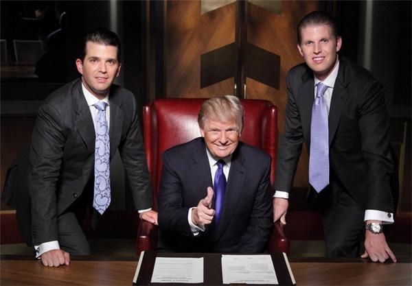 The Apprentice là show truyền hình thực tế rất ăn khách ở nước Mỹ.