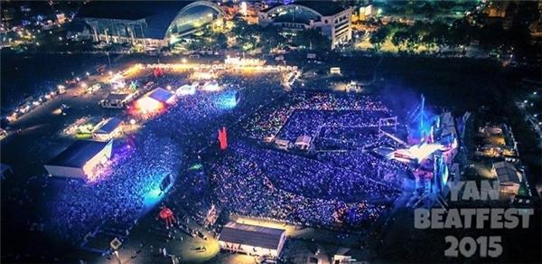 YAN Beatfest thu hút sốngười tham gialên đến50.000 khán giả.