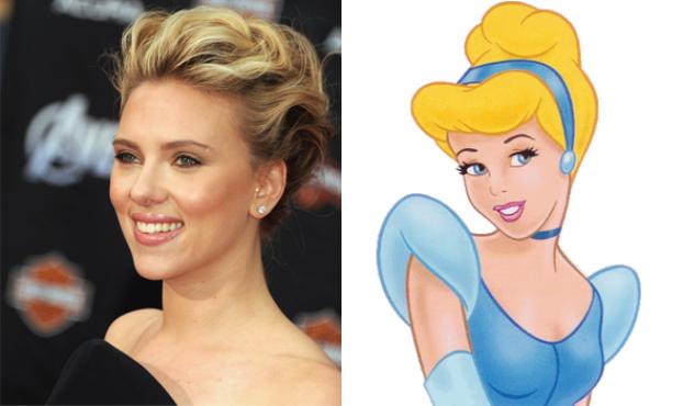 Nàng Lọ Lem Scarlett Johansson không cần váy xanh guốc ngọc, cũng đủ để trái tim bao chàng phải điêu đứng, chứ không riêng gì hoàng tử đâu nhé!(Ảnh: Internet)