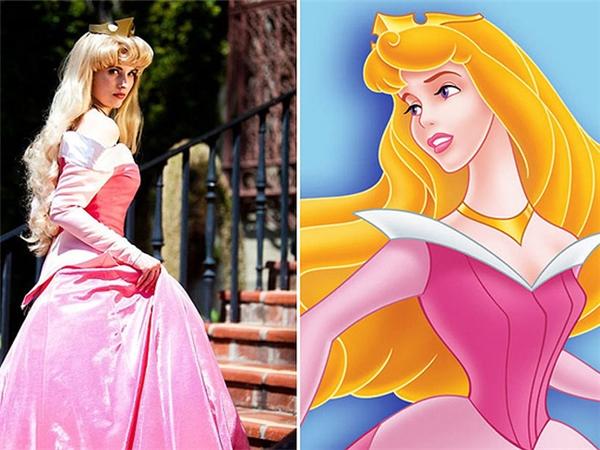 Nàng công chúa đã rời khỏi khu rừng và bước ra tìm hoàng tử.(Ảnh: Internet)