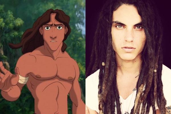 Bạn có thích vẻ hoang dại nhưng đầy cuốn hút của chàng Tarzan đời thực này không?(Ảnh: Internet)