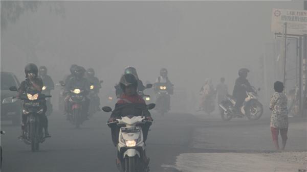 Bích Ngâncòn viết cả về thiên tai, khói bụi ô nhiễm quanh mình.(Ảnh: Internet)