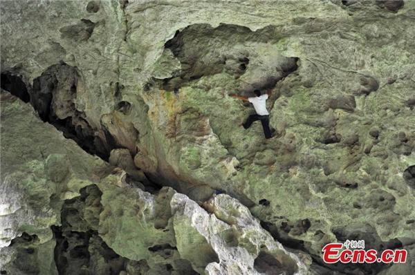 Nhiều người dân kháctrong làng cũngtham gia hoạt động leo trèo.