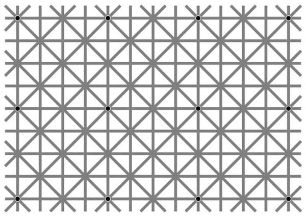 Bức ảnh ảo giác của giáo sư tâm lí Akiyoshi Kitaoka. (Ảnh: internet)