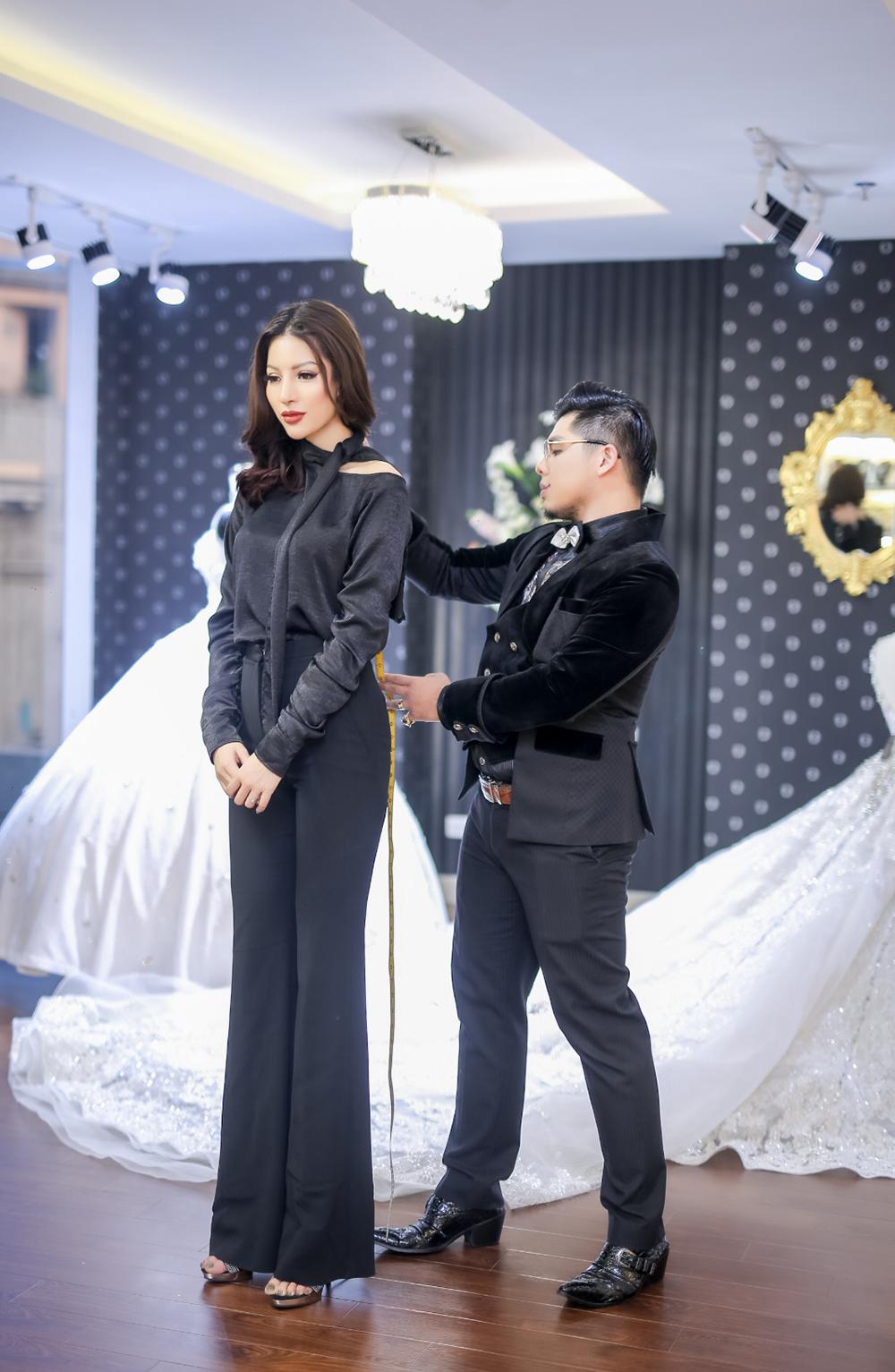 Lộ trang phục truyền thống của Khả Trang tại Hoa hậu Siêu quốc gia
