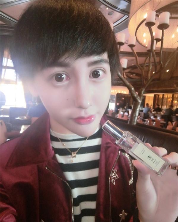 """Lưu Tử Thần thường xuyên đăng những bức ảnh """"dọa ma"""" lên mạng xã hội."""