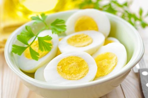 Trứng chứa nhiều vitamin D. (Ảnh: internet)