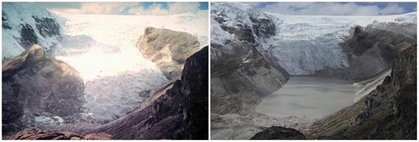 Sông băng Qori Kalis, Peru (07/1978 - 07/2011)