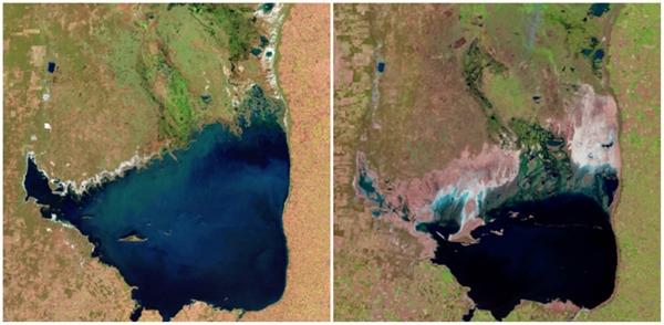 Hồ Mar Chiquita, Argentina (07/1998 - 09/2011)