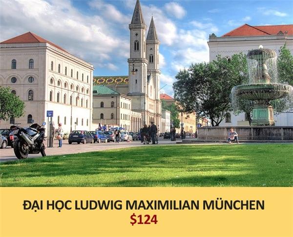 Hơn 2,7 triệu đồng (Munich, Đức)