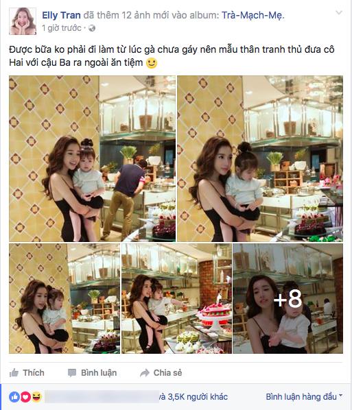 Hình ảnh mẹ con Elly Trần nhanh chóng thu hút sự quan tâm của cộng đồng mạng. - Tin sao Viet - Tin tuc sao Viet - Scandal sao Viet - Tin tuc cua Sao - Tin cua Sao