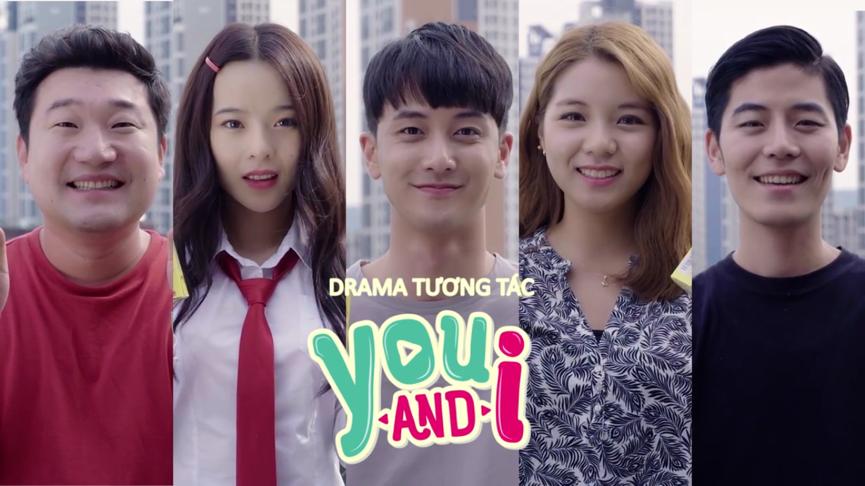 """Dàn diễn viên trẻ của drama tương tác """"YOU & I""""."""