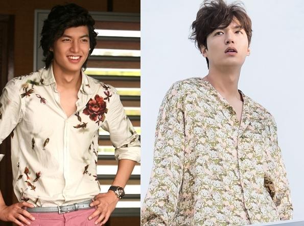 """Heo Joon Jae với vẻ ngoài điển trai, giàu có, phóng khoáng khiến khán giả nghĩ ngay đến chàng công tử Goo Jun Pyo trong Boys Over Flowers. Cũng mái tóc gợn sóng đặc trưng, cả hai từng chinh phục hàng triệu trái tim khán giả nữ bằng vẻ lãng tử vàcá tính """"không giống ai"""". Chỉ khác mỗi việc Heo Joon Jae ham mê vật chất trong khi Goo Jun Pyo lại không hề thiếu bất cứ thứ gì."""