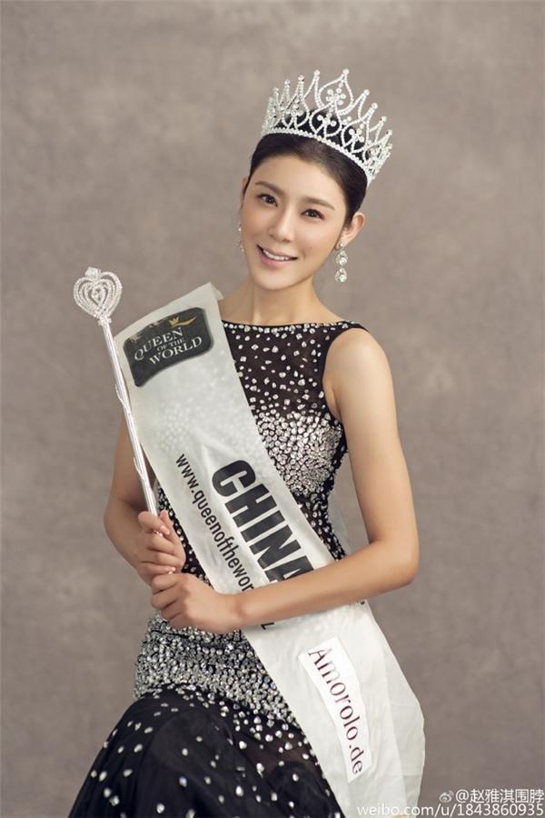 Hoa hậu Du lịch Trung Quốc Triệu Nhã Kỳ.