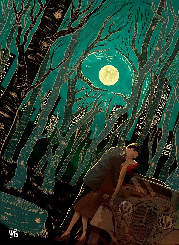 Đừng bao giờ nghĩ rằng có thể giấu được những cuộc tình vụng trộm, vì bao giờ vẫn luôn có đó bóng trăng trên đầu dõi theo.