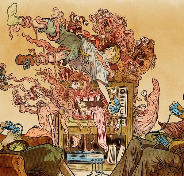 Nghiện trò chơi điện tử cũng chính là một cách tự hủy hoại thể xác và tâm hồn của bản thân.