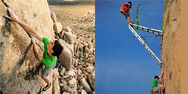 Người leo núi cực một,người chụp ảnh cực mười.
