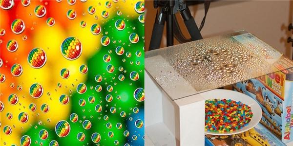 Bạn đã bao giờ nhìn thấy mưa bong bóng đầy kẹo ngọt thế nàychưa.