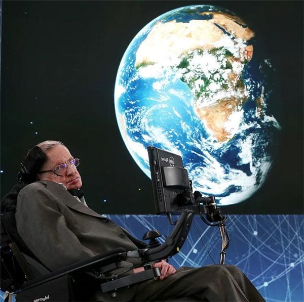 Nhà thiên tài Vật líStephen Hawking. (Ảnh:AP)
