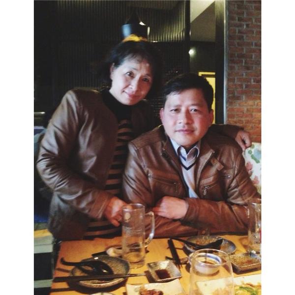 Chi Pu thừa hưởng nhiều nét xinh đẹp từ bố mẹ.(Ảnh: FB) - Tin sao Viet - Tin tuc sao Viet - Scandal sao Viet - Tin tuc cua Sao - Tin cua Sao