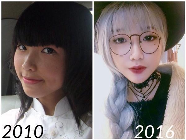 """Cô nàngnày thực sự khiến nhiều người thích thú vô cùng vì sự thay đổi sau 6 năm. Từ một cô nàng da ngăm ngăm """"bánh mật"""", vẻ ngoài có chút ngây thơ thì sau 6 năm, cô ấy đã hoàn toàn """"lột xác"""" với hình ảnh vô cùng cá tính và cuốn hút.(Ảnh: Internet)"""
