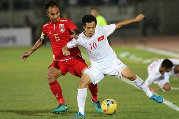 Đội tuyển Việt Nam thi đấu khíthế trên sân khách.(Ảnh: Internet)