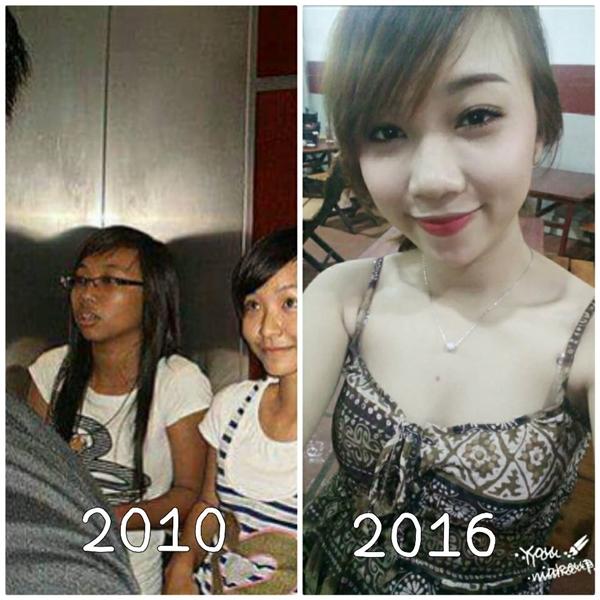 Nhìn đi nhìn lại, nhìn tới nhìn lui, nhìn ngang nhìn dọc cũng không biết bức ảnh năm 2010 thì ai mới là cô ấy...(Ảnh: Internet)