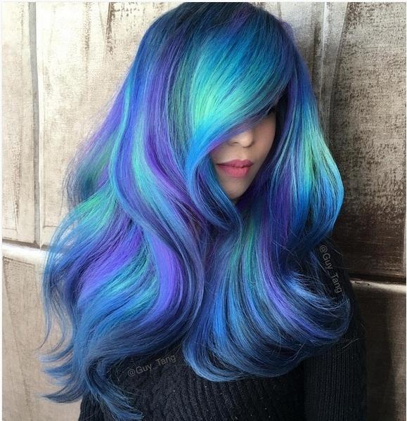 Những màu tóc nhuộm chỉ dành riêng cho hội