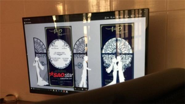 Hình ảnh thiệp cưới của Hari Won và Trấn Thành. - Tin sao Viet - Tin tuc sao Viet - Scandal sao Viet - Tin tuc cua Sao - Tin cua Sao