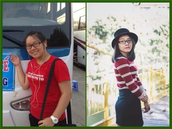 Nỗ lực giảm 10kg, cô gái này đãtrở nên gọn gàng và xinh đẹp hơn nhiều rồi.(Ảnh: Internet)