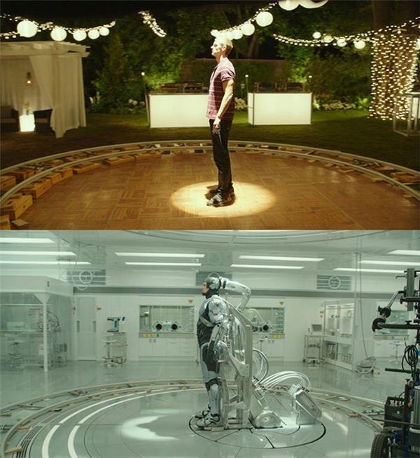 Tương tự trong phimRoboCop, trang phục cũng chỉlà một sản phẩm hoàn hảo của việc đồ họa.