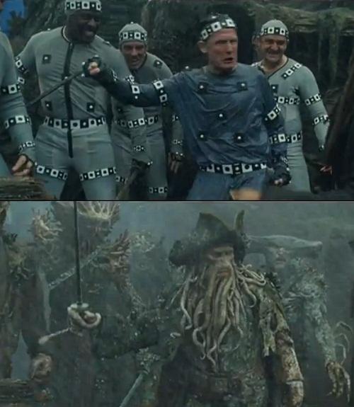 Bạn sẽ không còn thấy sợ thuyền trưởngDavy Jones trong Cướp biểnCaribbean nữa sau khi xem bức ảnh này.