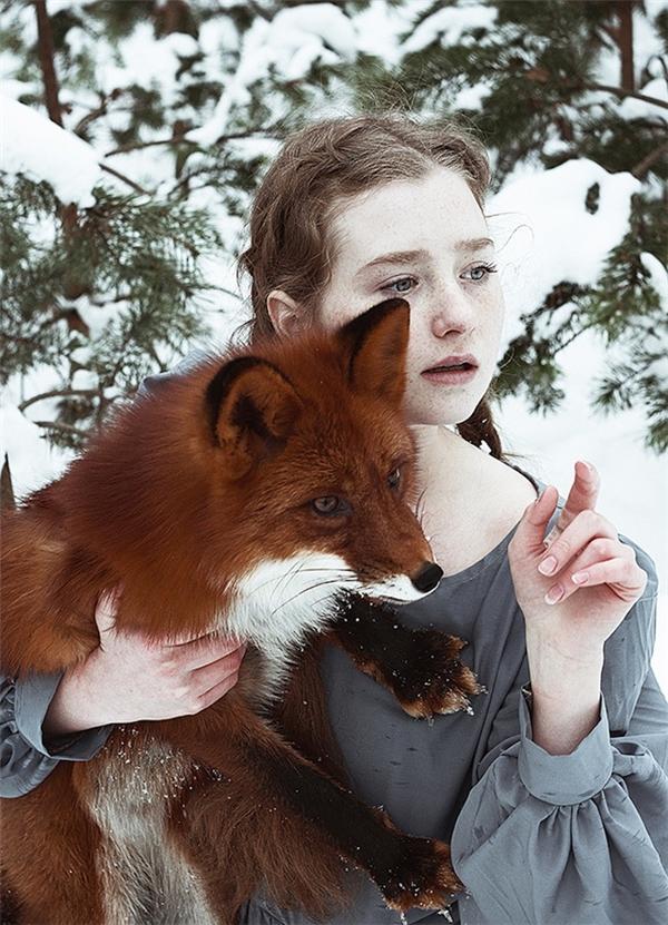 Các tác phẩm của Alexandra luôn là sự kết hợp hài hòa giữa thiên nhiên và con người.