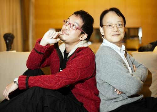 Liu Xuan(trái) và cha anhLiu Young(phải). (Ảnh: mf-china.com.vn)