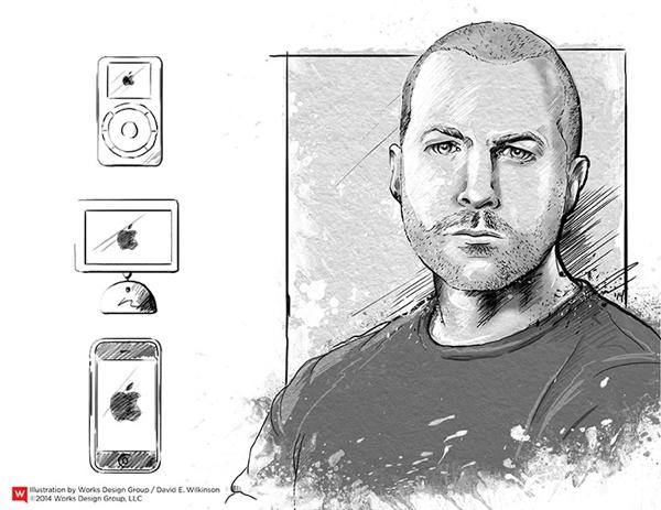 Jony Ive rất ít xuất hiện trong những mẫu quảng cáo của Apple vài năm gần đây. (Ảnh: internet)