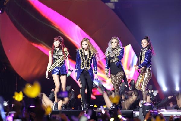 """MAMA 2015 cũng bị cho là sân khấu trở lại """"trá hình"""" của 2NE1"""