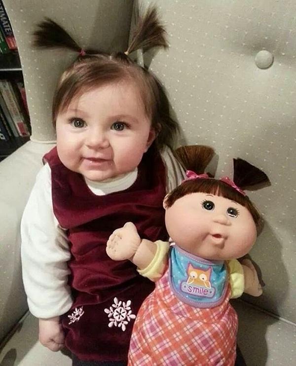 Cứ như búp bê này được thiết kế riêng cho bé gái vậy. (Ảnh: Internet)