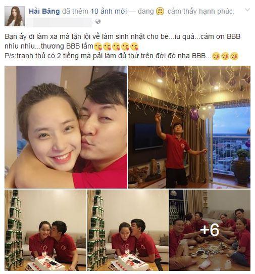 Tham dự bữa tiệc ấm cúng với cặp đôi Hải Băng - Thành Đạt, còn có sự góp mặt của một số bạn bè thân thiết - Tin sao Viet - Tin tuc sao Viet - Scandal sao Viet - Tin tuc cua Sao - Tin cua Sao